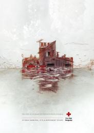 Red Cross: House Print Ad by Verde Asunción