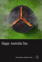 Mercedes-Benz: Australia Day Print Ad by Team collaboration