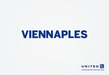 United  Airlines: Viennaples Print Ad by Miami Ad School