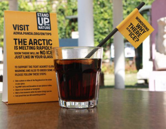 WWF: Wondering why there is no ice? [image]  Digital Advert by Bruketa&Zinic Zagreb