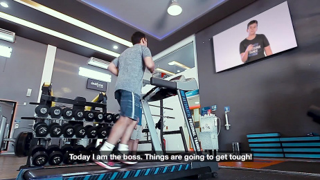 Personal Care Fitness Center: Automatic Personal Trainer Film by Pirueta, Sotaque Filmes