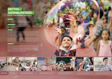 Dettol: Dettol Germbursters [image] Digital Advert by Collective Image Productions Pvt. Ltd., McCann Erickson Mumbai