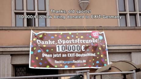 ZDK Gesellschaft Demokratische Kultur: Nazis Against Nazis – Germany's Most Involuntary Charity Walk Case study by GGH Lowe Hamburg, Grabarz & Partner Hamburg, Harvest