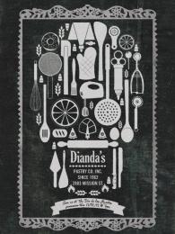 Dianda's Bakery: Día de los Muertos invitation Print Ad by Y&R California