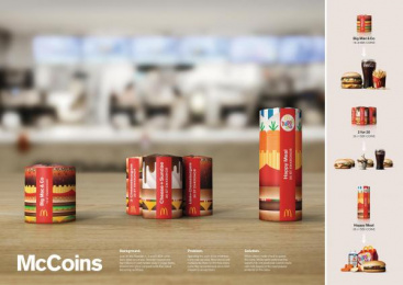 McDonald's: Mccoins [image] Direct marketing by DDB Stockholm