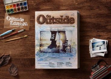 Go Outside: Go Outside [image] Print Ad by Delicatessen Filmes, Pict Studio, Talent Marcel