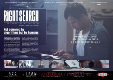 CheckNews.fr: The Right Search [image] Digital Advert by J. Walter Thompson Paris