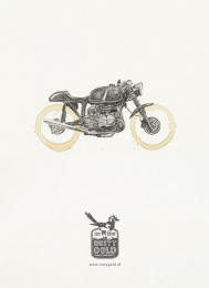 Rusty Gold Motorshop: BMW Print Ad by SuperHeroes Amsterdam