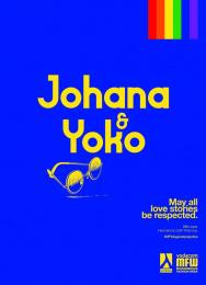 Mozambique Fashion Week: Blue - Johana & Yoko Print Ad by DDB Maputo
