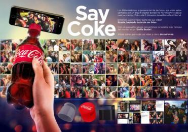Coca-cola: Say Coke [image] Case study by Leo Burnett Bogota