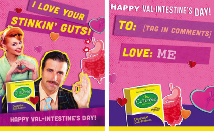 Culturelle: Val-Intestine's Day, 5 Digital Advert by Terry & Sandy