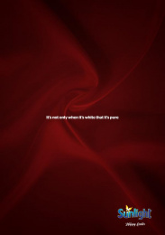 Sunlight: Red Blood Print Ad by DDB Lagos