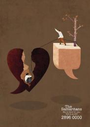 The Samaritans: Heartbreak Print Ad by Y&R Shanghai