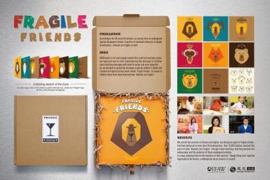 Ifaw/international Fund Of Animal Welfare: Fragile Friends Direct marketing by Cheil Beijing