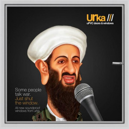 Urka: Osama bin Laden Print Ad by Janrise India