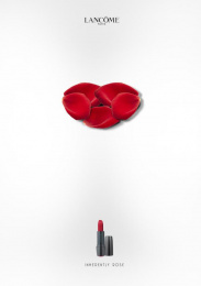 Lancome: Lip Print Ad by Sushil Kumar Swamy