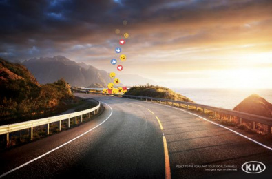 Kia: Reactions Print Ad by Innocean Toronto