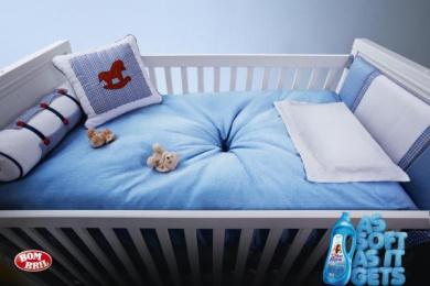 Mon Bijou: As soft as it gets, Baby room Print Ad by DPZ Sao Paulo