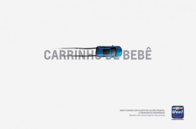 Uvel Chevrolet: Baby Carriage Print Ad by Woop Comunicação