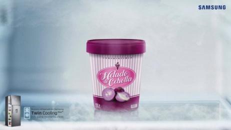 Samsung: Ice cream Print Ad by Athos Santa Cruz