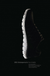 Creighton Osteoporosis Research Center: Spine/Sole Print Ad by Bailey Lauerman