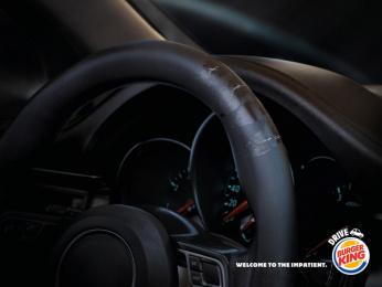 Burger King: Drive, 3 Print Ad by Buzzman Paris
