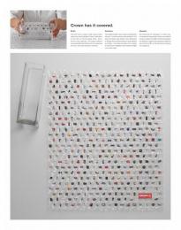 Asics Corporate: ORIGAMI Print Ad by Nordpol Hamburg