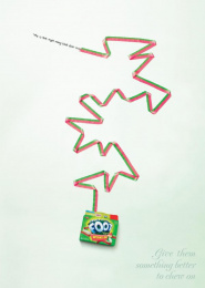 Fruit By The Foot: DOGGIE Print Ad by Saatchi & Saatchi New York