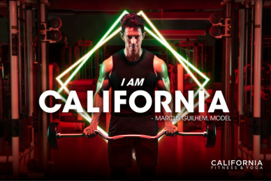 California Fitness: I am California - Marcus Guilhem Print Ad by DDB & Tribal Vietnam
