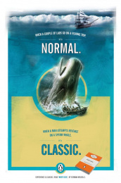 Penguin Books: Moby Dick Print Ad