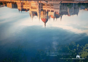 Cruise Plus Brasschaat: BUDAPEST Print Ad by Euro Rscg Brussels
