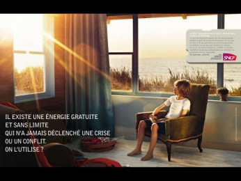 "Sncf: ""Free Energy"" Print Ad by TBWA Paris"