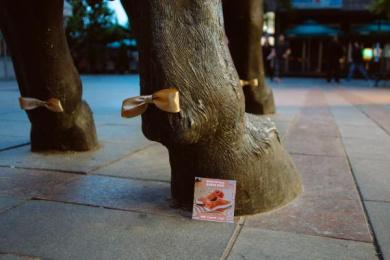 Puma: Suede Bow, 1 Ambient Advert by Eden na Eden Skopje