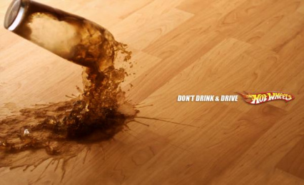 Hot Wheels: Coke Print Ad by Maksim Fulltime
