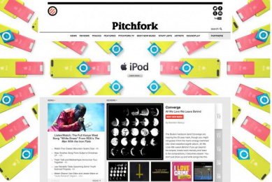 iPod: PATTERNS Digital Advert by TBWA\Media Arts Lab Los Angeles