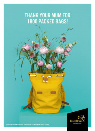 Interflora: Bags Print Ad by Volt