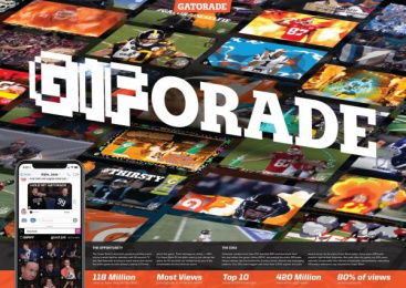 Gatorade: GIForade [Supporting Images], 2 Digital Advert by VML Kansas City