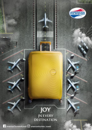 American Tourister: Joy in Every Destination, 1 Print Ad by FCB Kuwait