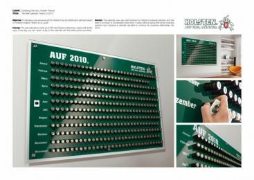 "Holsten Pilsener: ""HERE'S TO 2010."" Design & Branding by Scholz & Friends Hamburg"