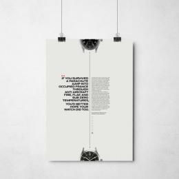 Vertex: Parachute [poster] Print Ad by Grey London