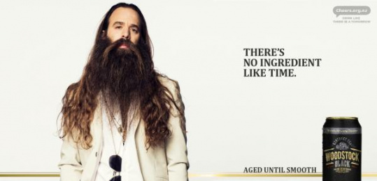 Woodstock Black: There's No Ingredient Like Time, 1 Outdoor Advert by Whybin\TBWA Auckland