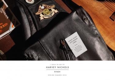 Harvey Nichols: Jacket Print Ad by Lowe Mena Dubai