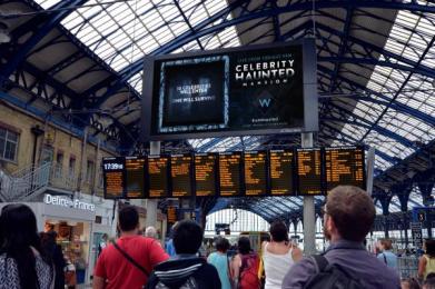 UKTV Channel W: Celebrity Haunted Mansion, 3 Outdoor Advert by UKTV Creative