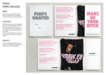 Street Wear: PIMPS WANTED Direct marketing by M&C Saatchi Melbourne