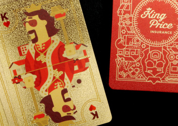 King Price Insurance: Playing Cards, 6 Print Ad by Xfacta Consulting Service