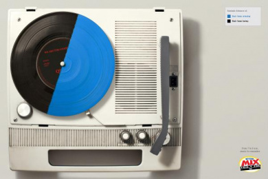 Radio Mix FM: Music to remember. 3 Print Ad by Que Comunicacao
