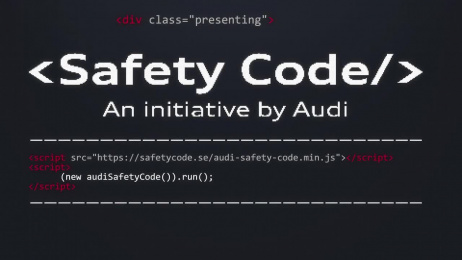 Audi: Safety Code Film by Akestam.holst Stockholm, Provide IT