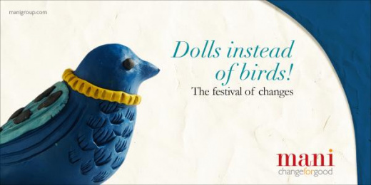 MANI: Dolls instead of birds Print Ad by Response India