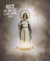 Fosbury&Brothers: Rock is Religion - Janis Joplin Print Ad by Fosbury&Brothers Parana, unMARIACHI
