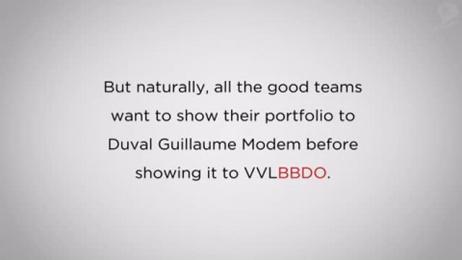 VVL BBDO: BBDO BECOMES DUVAL GUILLAUME MODEM Direct marketing by VVL BBDO Brussels